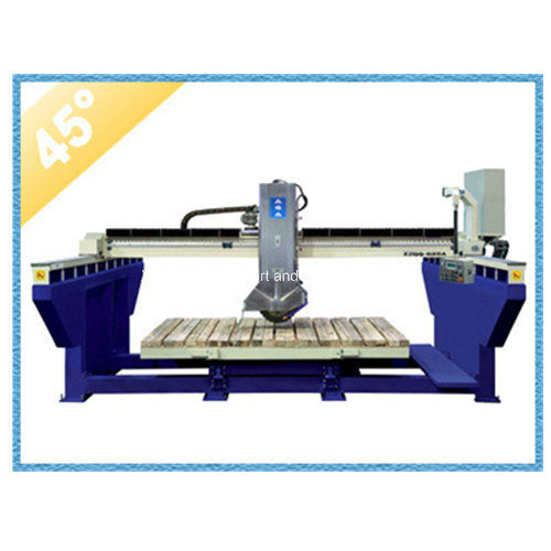 Automatic Bridge Saw Machine for Cutting Mable Granite Slab Xzqq625A pictures & photos