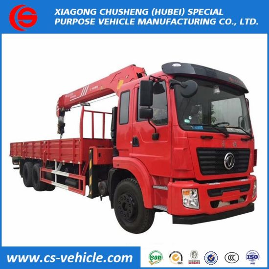Competitive Price Truck Mounted Crane Manufacturer Pickup Truck Crane Truck with Crane 10 Ton for Sale