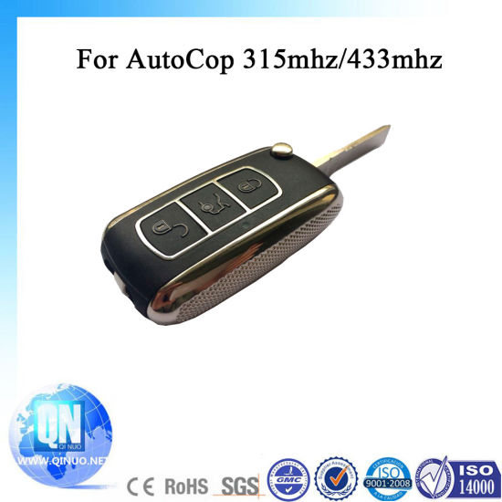 China Car Alarming Remote Control For Autocop 433mhz 315mhz China Car Alarm Remote Control Central Lock System