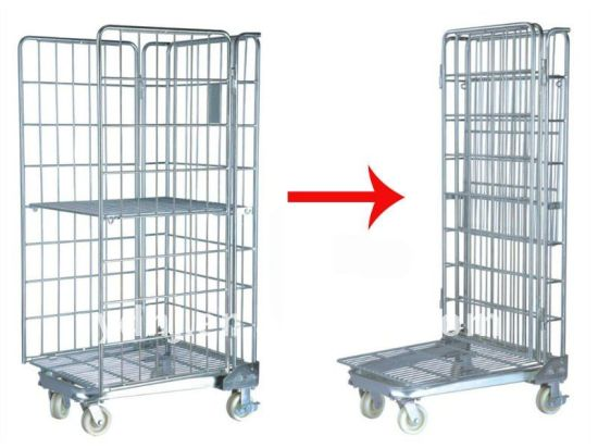 China Metal Warehouse Roll Cage Roll Container - China Mesh