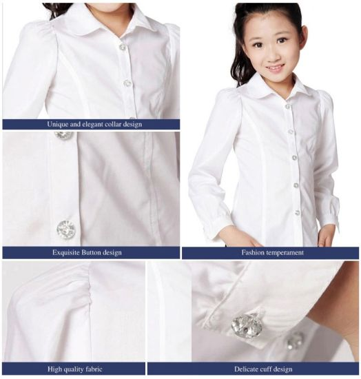 China Hot Sale Oem In Myanmar 2019 New Products School Uniforms Shirt China School Shirt And Student Shirt Price
