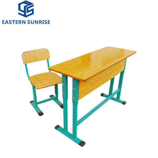 Tremendous China School Classroom Adjustable Height Double Desk And Cjindustries Chair Design For Home Cjindustriesco