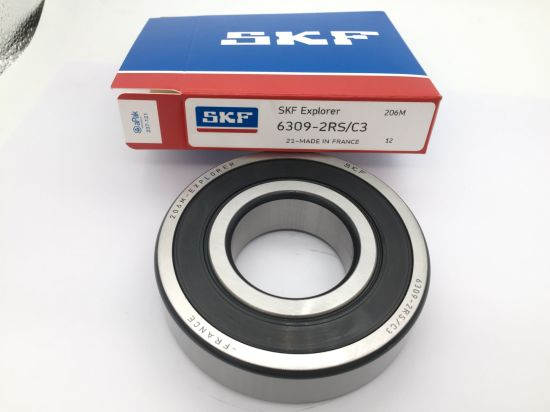 1 pcs SKF 6302-2RSH rubber seals ball bearing made in France free shipping new