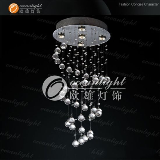 Ocean Lighting Modern Large Pendant Lamps Crystal Pendant Light Ball Pendant Lamp for Wedding Om9129 pictures & photos