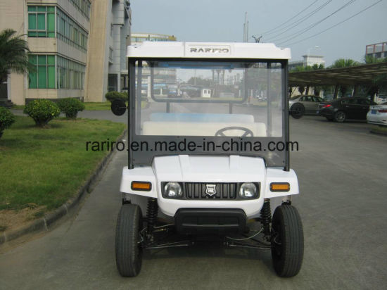 Rariro Ce Certified Electric Sightseeing Car with 8 Seater Petrol pictures & photos