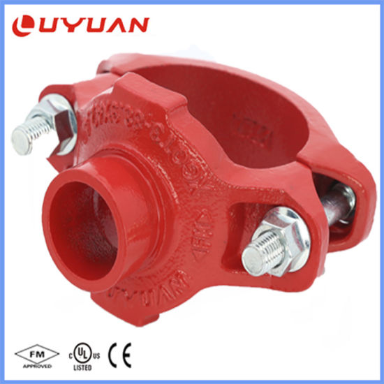Ductile Iron Grooved Pipe Fitting Grooved Mechanical Tee with FM/UL Approval pictures & photos
