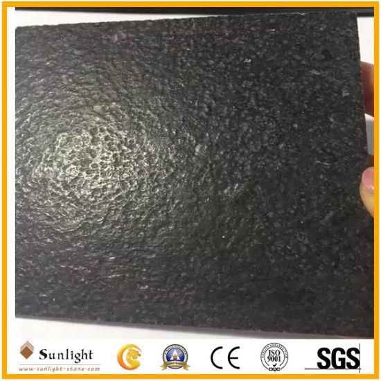 G684 Black Paving Stone Granite Wall Tile, Granite Tile with Leather Surface pictures & photos