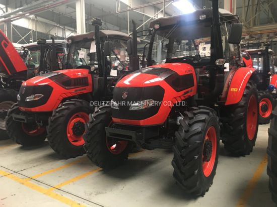 110HP 4WD China High Quality Agricultural Farm Tractor with Cabin