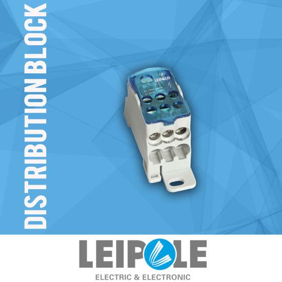 Leipole DIN Rail Newest Power Distribution Terminal Block (UKK 125A)