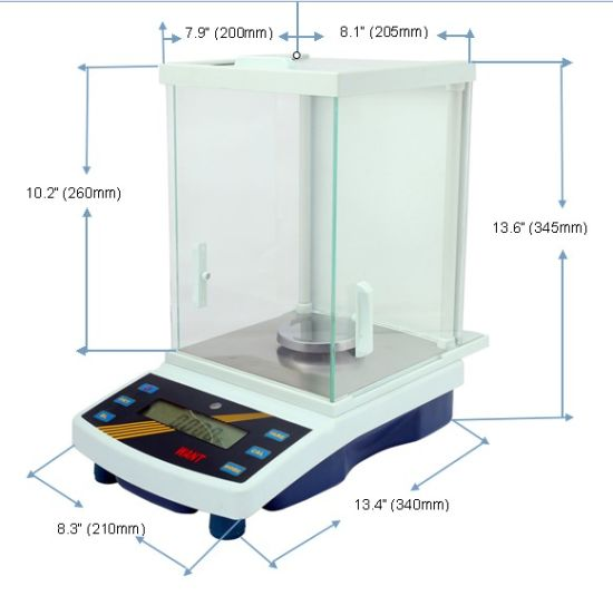 Easy Weighing Industrial Scale with Under Hook (2000g/2100g/2200g/0.01g) pictures & photos