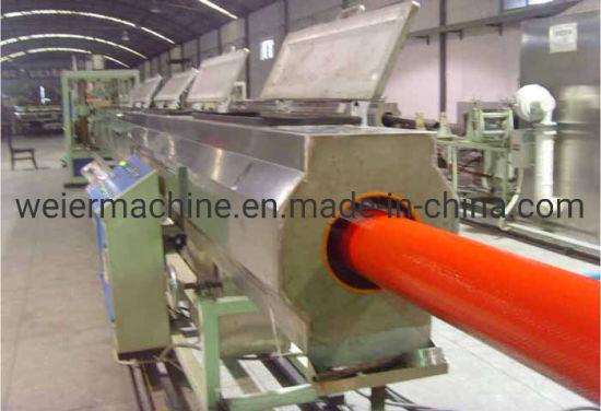TPU Hose Extrusion Machine Through The Weave