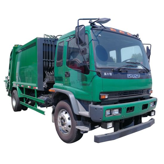 Japan Brand Isuzu Ftr Fvz 4X2 Type10m3 12m3 Compactor Garbage Truck Price for Sale