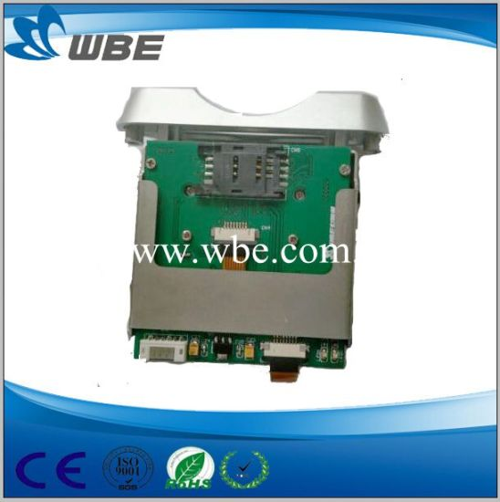 RFID Smart Card Reader Manual Insert IC Card Reader/Writer pictures & photos