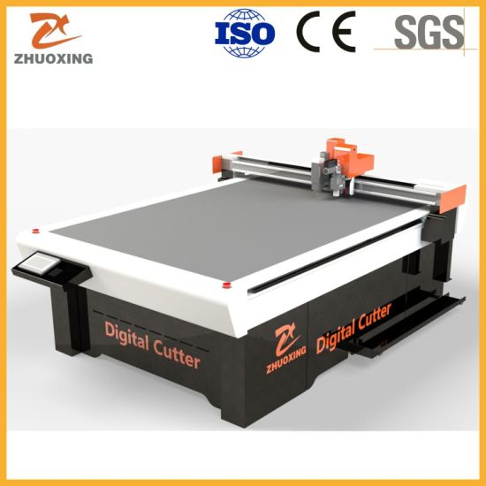 Automatic Textile Leather Cutting Punching Machine Leather Cutter with High Cutting Speed for Factory Price Good Quality