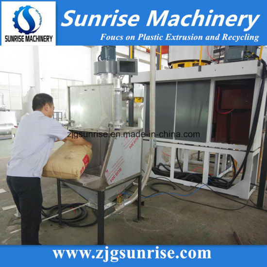 Dust Free PVC Mixer Plastic High Speed Mixer with Vacuum Feeding System pictures & photos