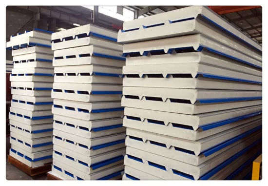 Anti Fire PU Sandwich Panel Wall Roof Panels Decoration Material pictures & photos