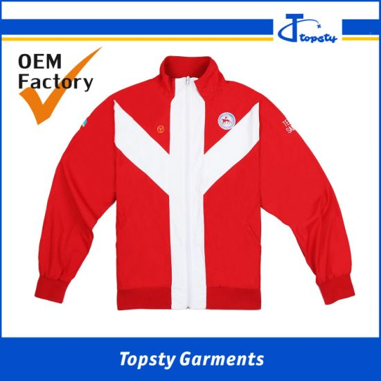 Custom Made Sport Men's Fashion Polyester Sublimation Track Suits