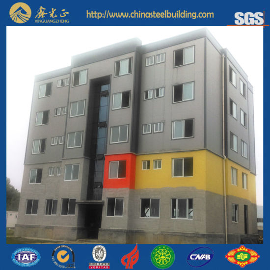 Steel Multi-Storey Apartment House (SS-16130) pictures & photos
