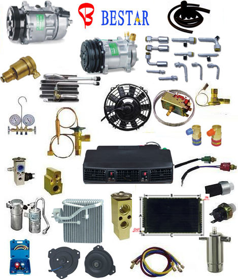China Retek Auto Car AC Parts & AC Condenser Evaporator