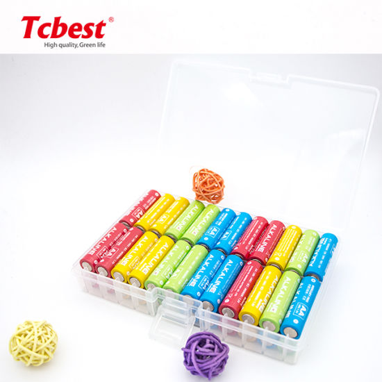 High Quality 1.5V Power AA Size Lr6 Alkaline Dry Cell Battery with Kc/CE/MSDS for Camera (AM-3) Packed in 48PCS/Box
