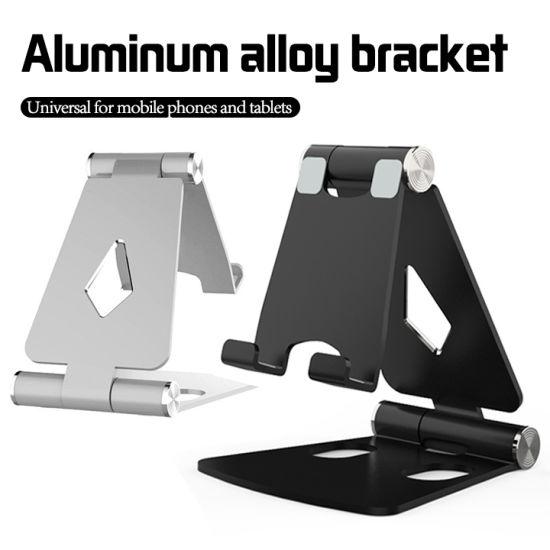 Mini Aluminum Adjustable Desktop Tablet Stand Cell Phone Bracket Holder