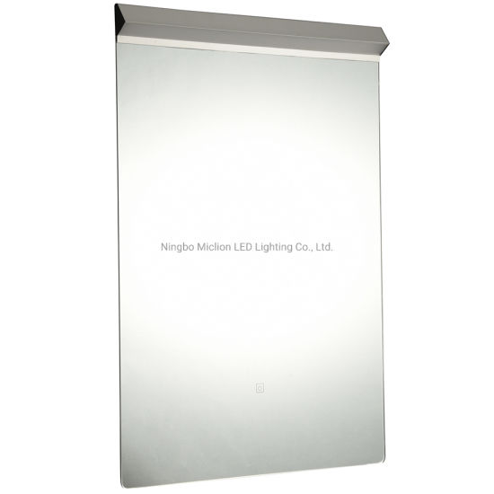 OEM 600 X 800 mm LED Lighted Bathroom Wall Decor Mirror with Bluetooth