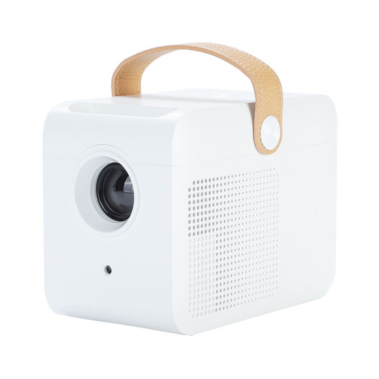 Portable LCD Multimedia Video HD LED Mini Projector for Home Theatre System Optional Android WiFi