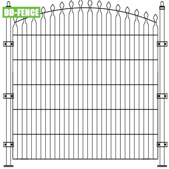 Decorative Fence/Double Horizontal Wire Fence/Garden Fence/Decorative Mesh Fence