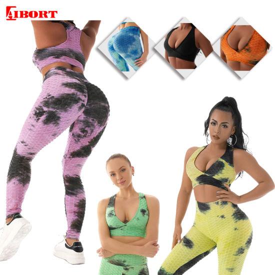 Aibort Womens Seamless Gym Scrunch Butt Squat Proof Leggings