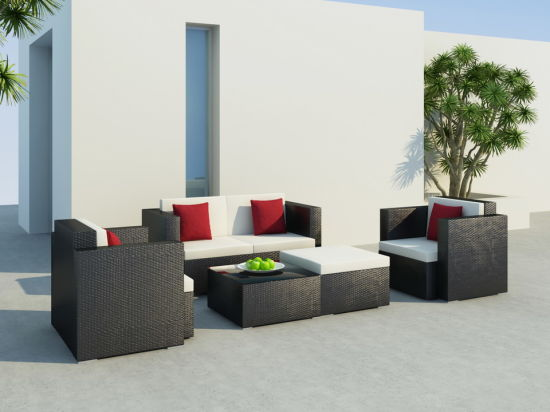 Garden Sofa Rattan Outdoor Sofa