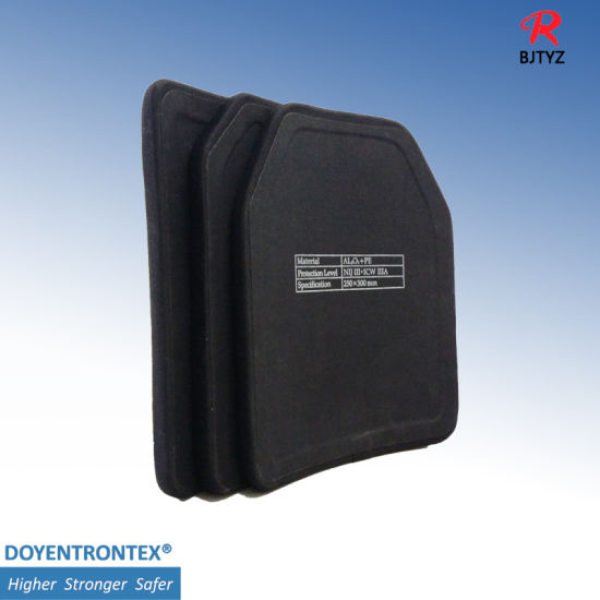 Ballistic Plate Plate Silicon Composite Plate Bulletproof Plate
