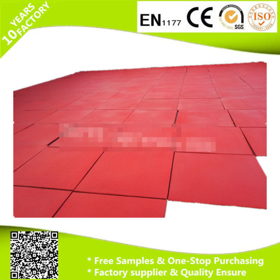 Muti-Use Rubber Mat with Loading Capacity and En1177 Certificate pictures & photos