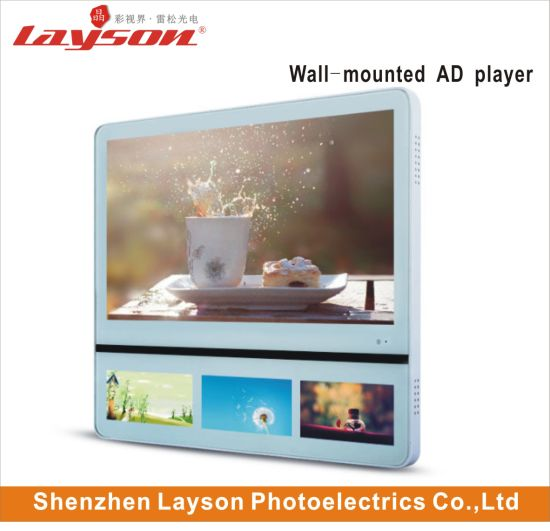 23.6 Inch and 10.1 Inch LCD Advertising Media Player Video Ad Player TFT Elevator Screen WiFi Network LED Digital Signage