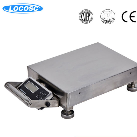 China Professional Manufacturer 20mm LCD Display Electronic Weighing Platform Scale