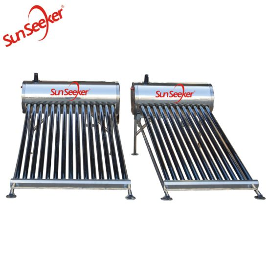 New Design Solar Water Heater with Round Frame pictures & photos