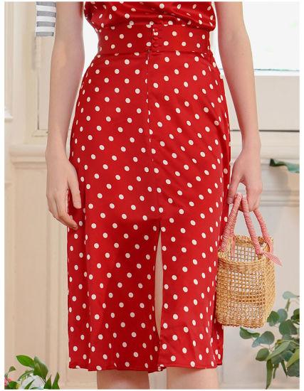 100% Custom Design Silk Lady Potty Skirt Silk Garment