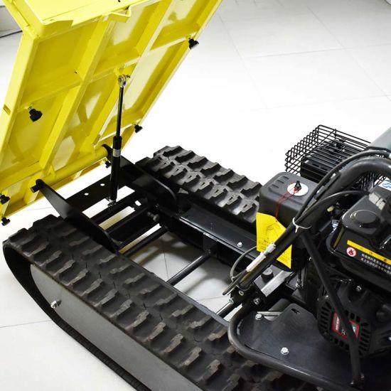OEM Manufacture Mini Dumper Truck with Trailer Moto Dumper Barrow Dumper