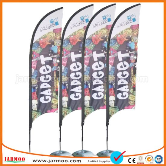 Customized Cheap Sail Flag Outdoor Flying Banner pictures & photos