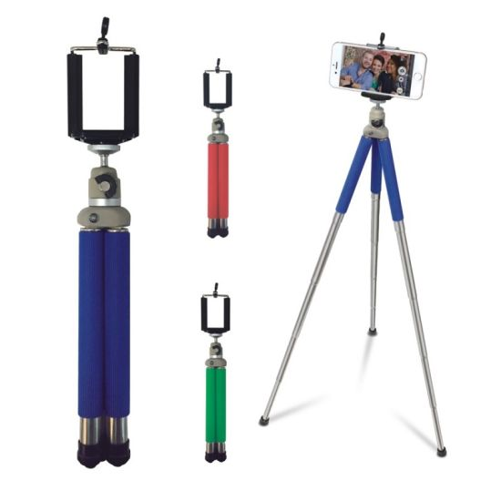 Colorful New 3 in 1 Camera Tripod with Selfie Stick