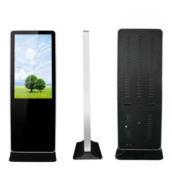 Floor Stand Monitor Commercial Screen Indoor Equipment Advertising LCD Display
