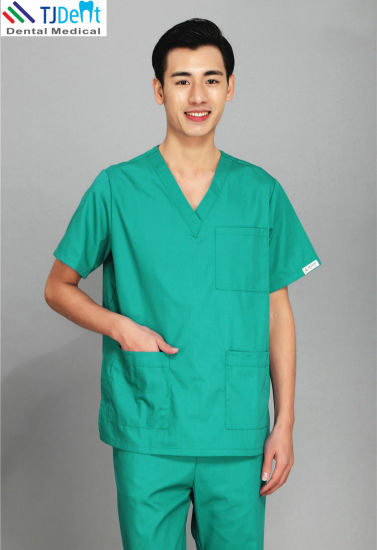 Hospital Medical Dental Nippontex Material OEM Doctor Clothes Clinic Dentist Uniform pictures & photos