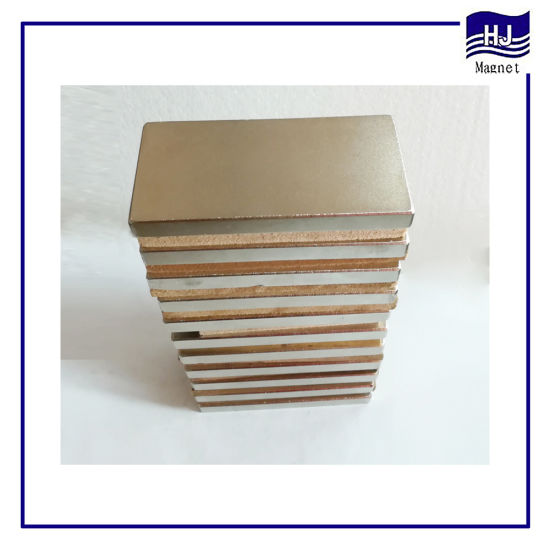 Strong Magnetic Square Industrial Neodymium Magnet