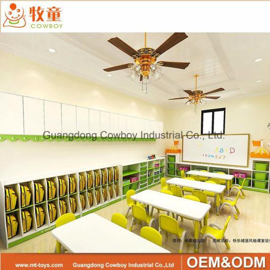 Modern Classroom Furniture Kindergarten Nursery School Children Furniture