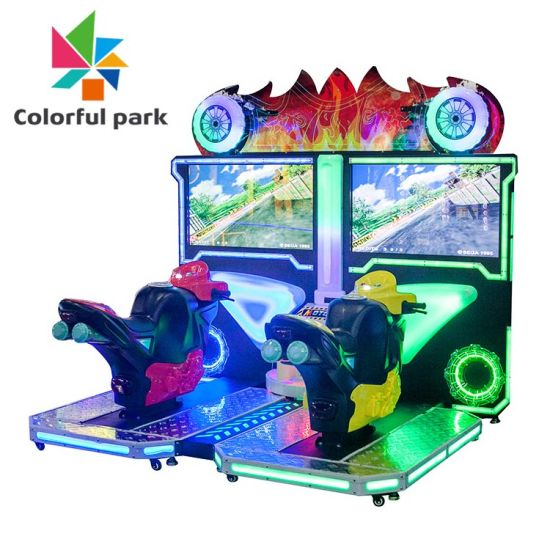 Selling Motorcycle Indoor Driving Simulator Game Zone Coin Operated Pusher/Car Racing/Ticket/Wholesale/Shooting/Video/Electronic/Amusement /Game/Arcade Machine