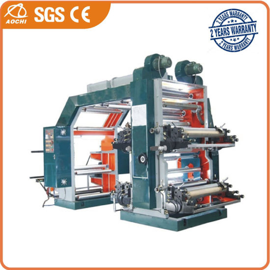 High-Speed Flexographic Printing Machine (WS884ZZ-1000ZS)