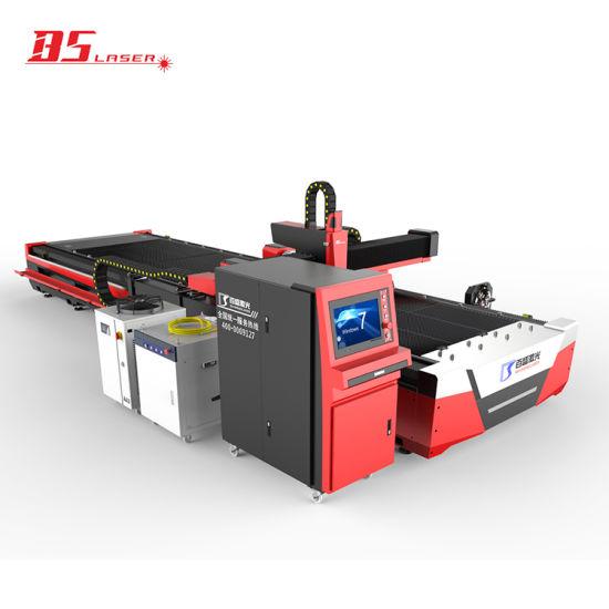 Baisheng Pipe Tube Sheet Plate CNC Fiber Laser Cutting Machine with 3 Years Warranty