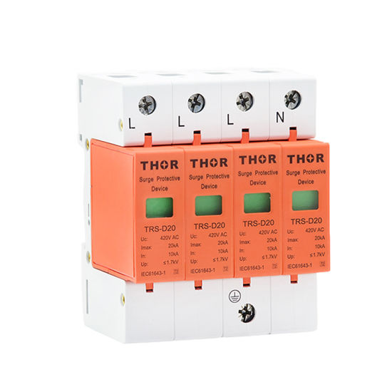Surge Lightning Arrester Indoor Power Protector Device 220V Surge Protector