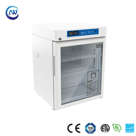 2º C~8º C Small Undercounter Vaccine Biological Pharmacy Refrigerator
