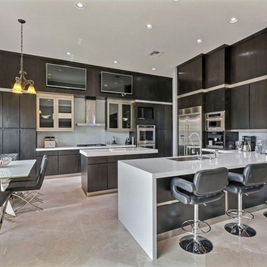 China Modular Ready Made Home Design Kitchen Cabinets With