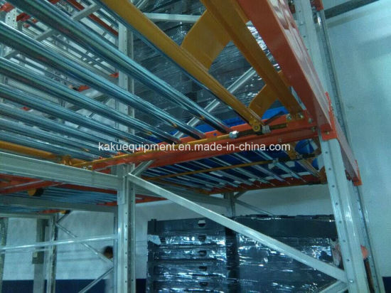 Heavy Duty Gravity Pallet Shelving for Industrial Warehouse Storage pictures & photos